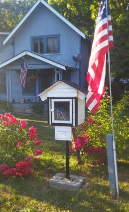 Rogue River free library l