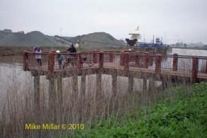 Pier at Petaluma River