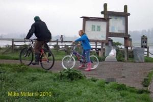 Shollenberger bicyclists