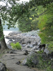 trail bench