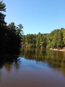 WD calm river