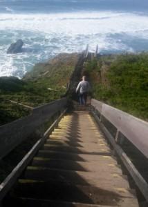 Black Pt stairs