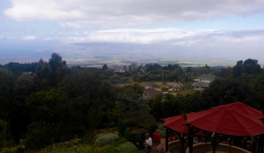 View from Kula Lodge