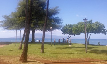 Lahaina shore park