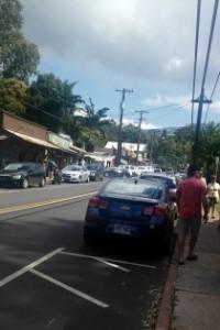 Makawao street
