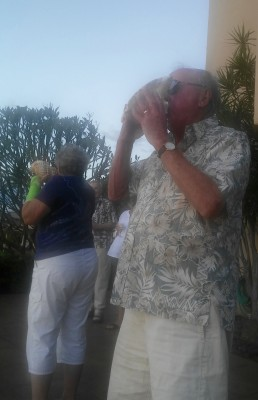 Conch blowers