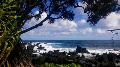 Ke'anae Peninsula shore
