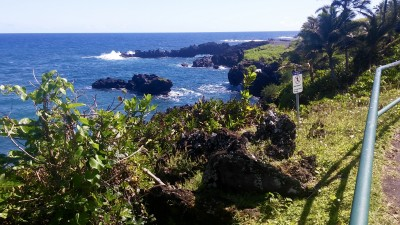 Waiʻānapanapa State Park rail