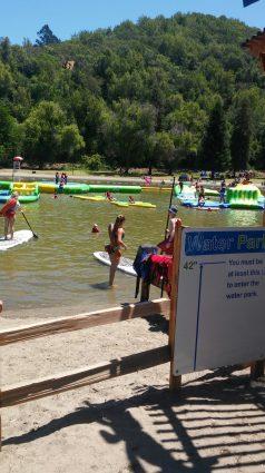 Swimming lagoon Spring Lake